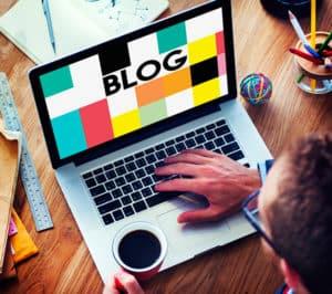 Blog aufbauen